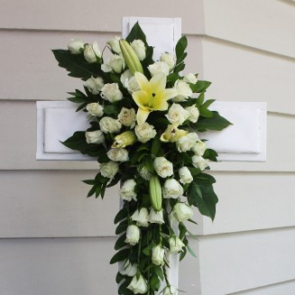 Wreath + Cross